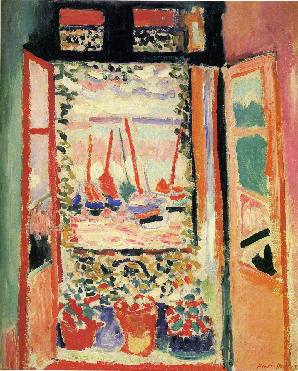 Henri matisse 1869 1954 the open window 1905 fauves andre