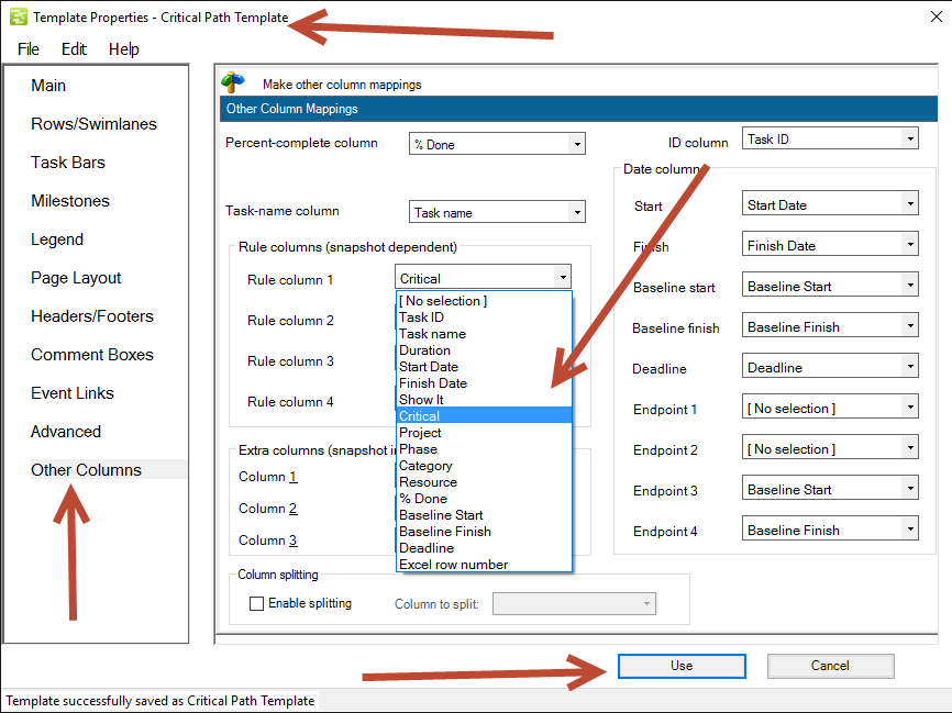 Critical Path In An Excel Gantt Chart Onepager Express