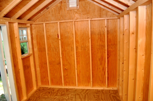 How To Build Shed Storage Shelves One Project Closer