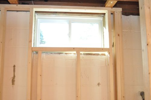 Finishing A Basement, Day 1: Framing The Walls - One Project Closer