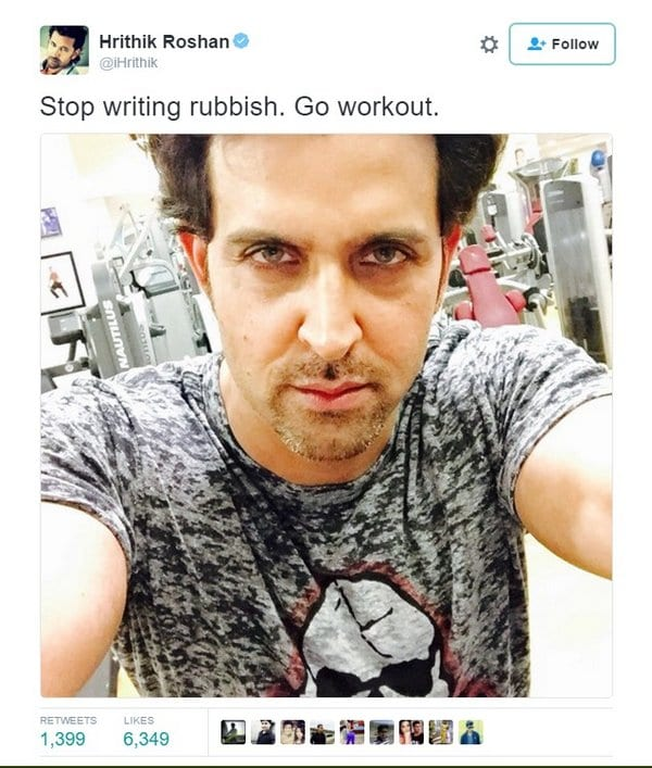 Hrithik Roshan Wants to Prove that He was never with Kangana Ranaut