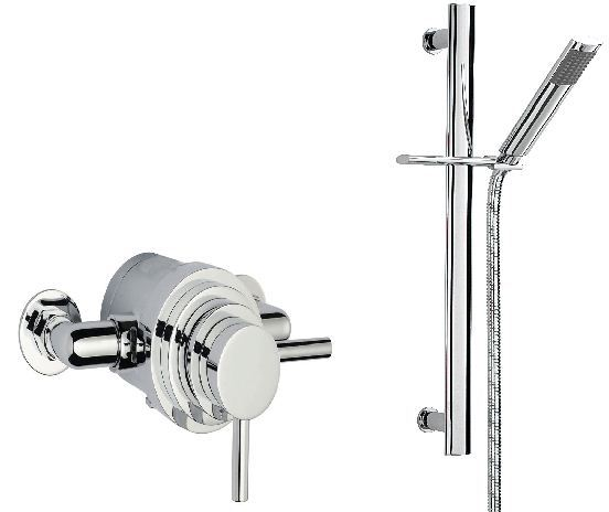 Sagittarius Metro Shower Kit & Thermostatic Valve Set