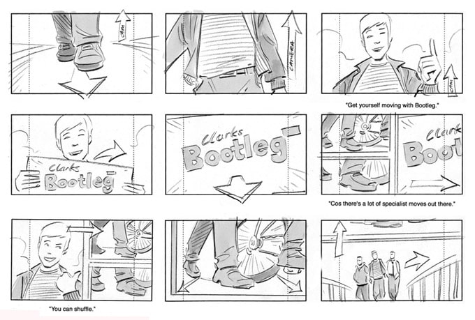 commercial storyboard examples