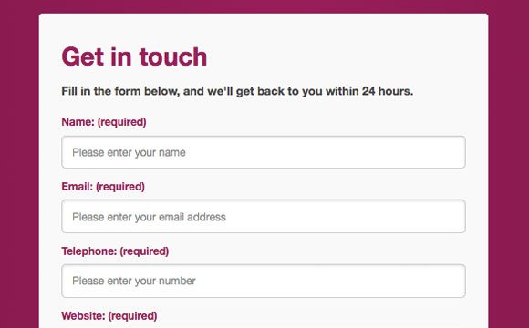 Creating an HTML5 Responsive-Ready Contact Form with JavaScript