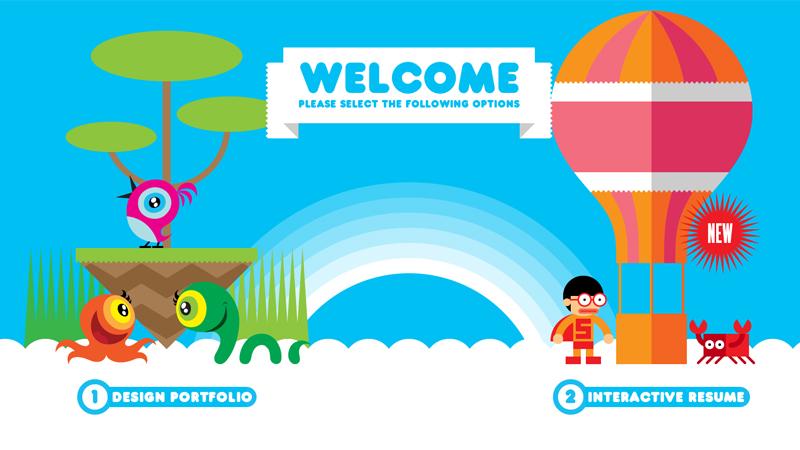 Interactive Portfolio and Resume Websites to Inspire You
