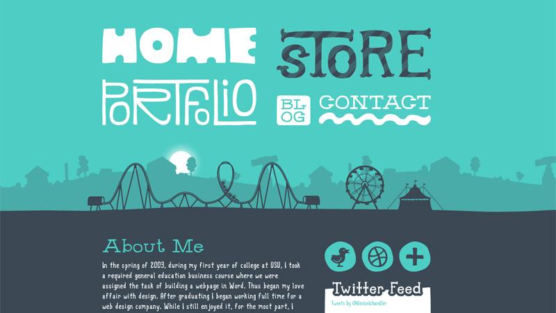 Interactive Portfolio and Resume Websites to Inspire You - resume website design