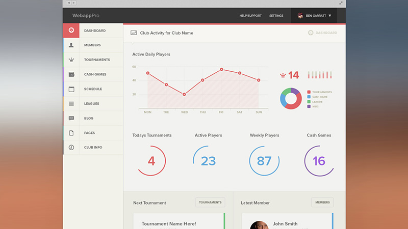 30 Vivid Dashboard UI Designs for Your Inspiration - coupon template