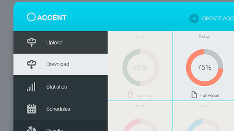 30 Vivid Dashboard UI Designs for Your Inspiration - project design template