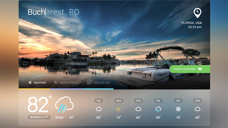 30 Vivid Dashboard UI Designs for Your Inspiration - dashboard design inspiration