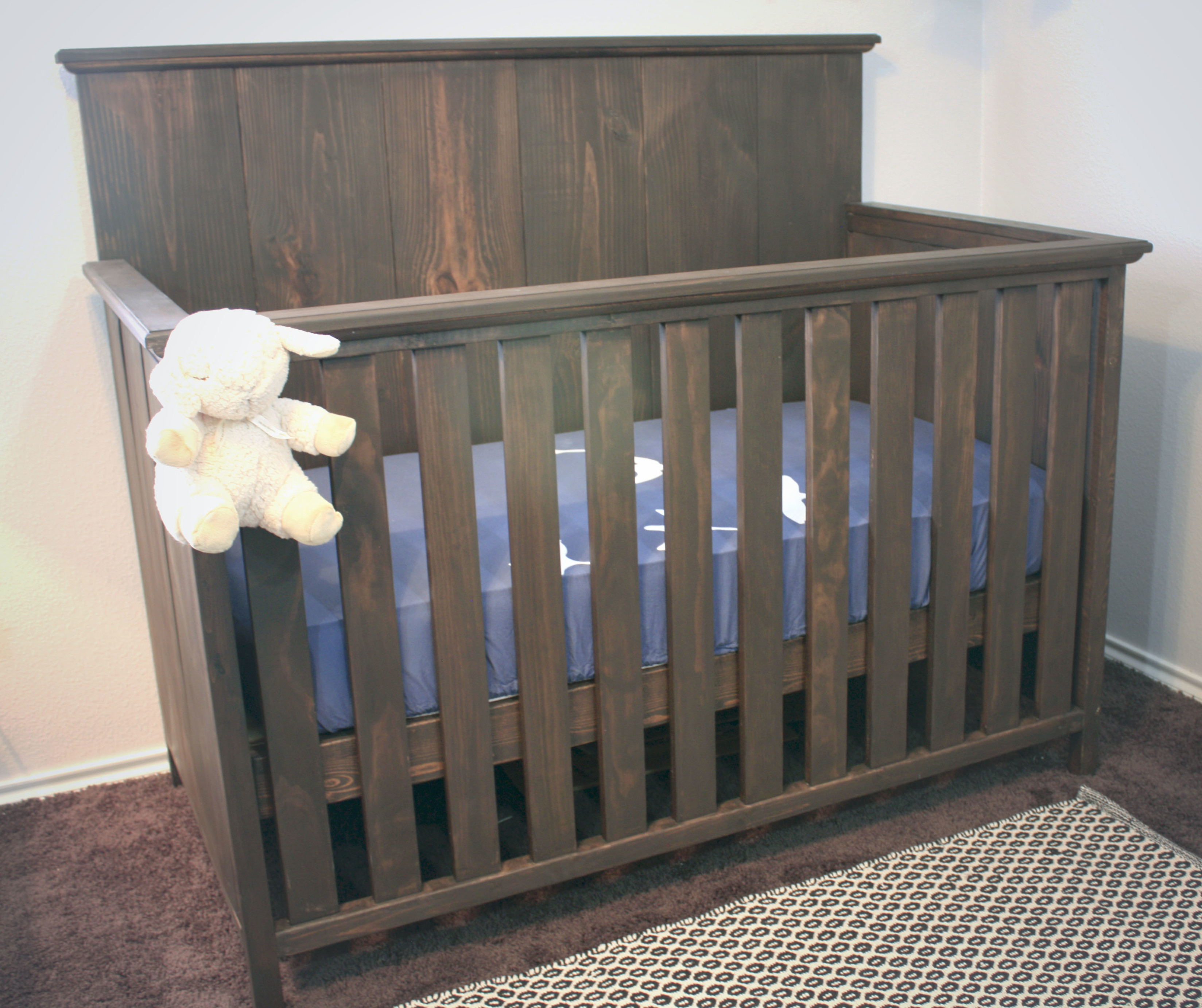 How to build a crib for 200 on house and home for Diy baby furniture