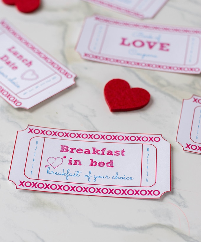 Valentine\u0027s Day FREE Printable Love Coupons - Onion Rings  Things
