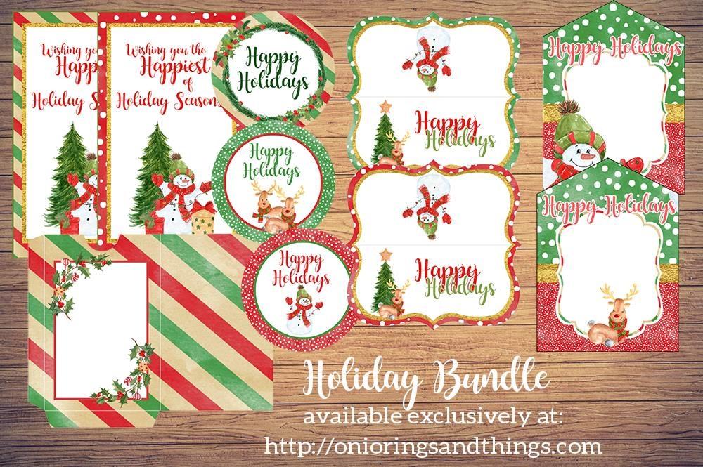 Christmas Gift Giving FREE Printables - Onion Rings  Things