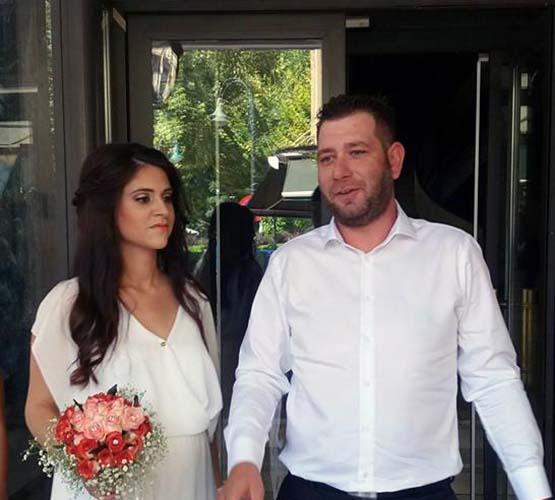 Από μπλοκατζής... γαμπρός ο Φάνης Τραγάκης - Παντρεύτηκε ο νεαρός Λαρισαίος αγροτοσυνδικαλιστής (φωτό)