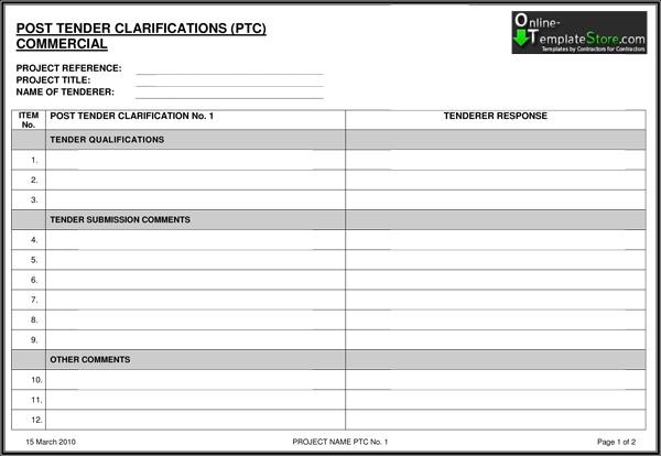 Free Templates Construction Templates