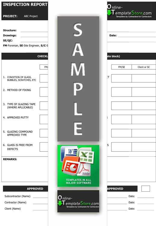 Quality control template excel calendar template word