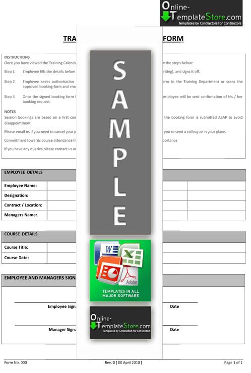 Training Request Form. training request templates - acurlunamedia ...
