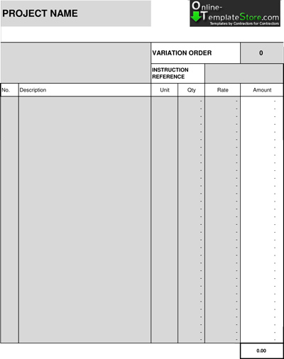 Free Templates Construction Templates - free contractor forms templates