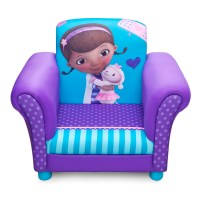 NEW DELTA CHILDREN DISNEY DOC MCSTUFFINS UPHOLSTERED CHAIR ...