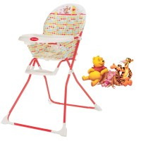 NEW OBABY DISNEY RED WINNIE THE POOH BABY HIGHCHAIR ...