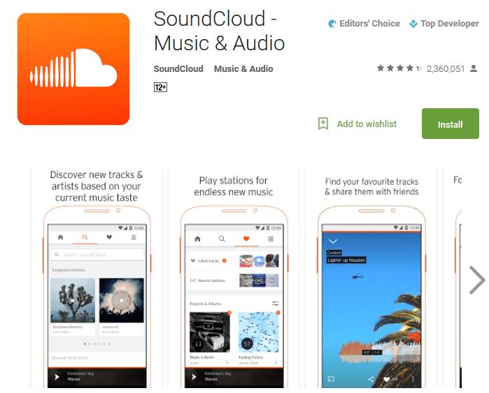 SoundCloud online music