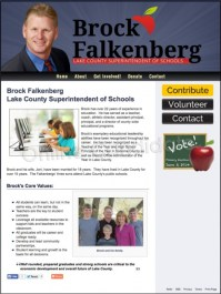 Brock Falkenberg Lake County Superintendent of Schools ...