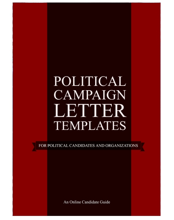 Political Campaign Letter Templates Online Candidate
