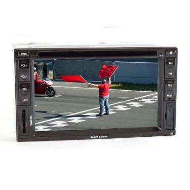 Performance Teknique ICBM-9723 Double-DIN In-Dash DVD, CD, MP3, MP4