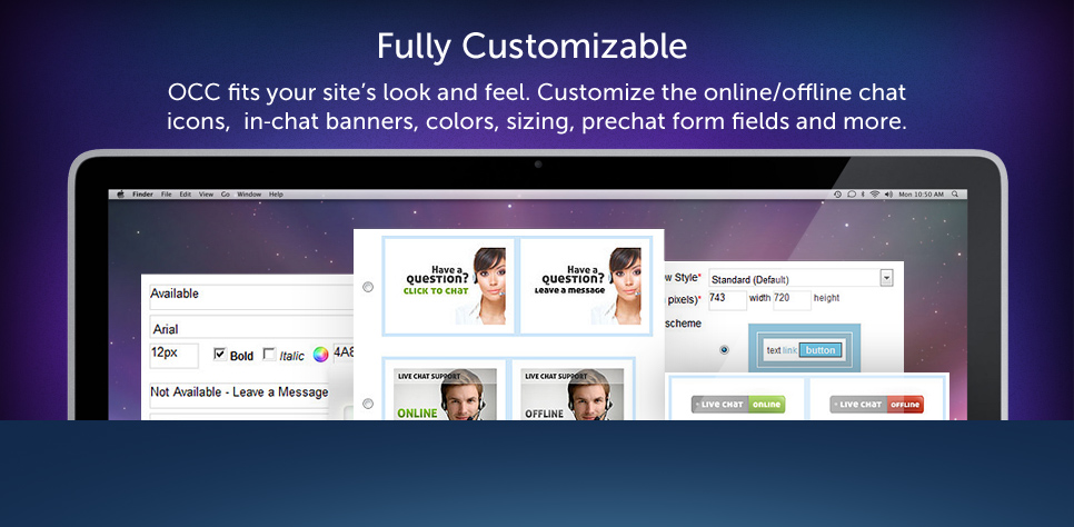 OCC Free Live Chat Software for Websites Live Support Live Help - free live chat room