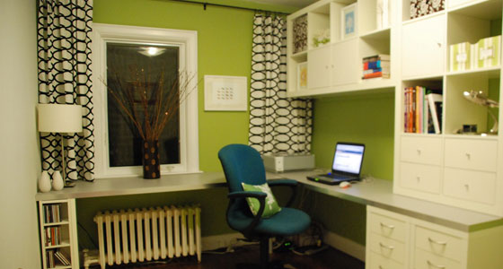 50 Killer Ikea Hacks to Transform Your Home Office - OnlineCollegeorg - ikea home office ideas