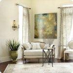 Home decor:  go BIG or go home