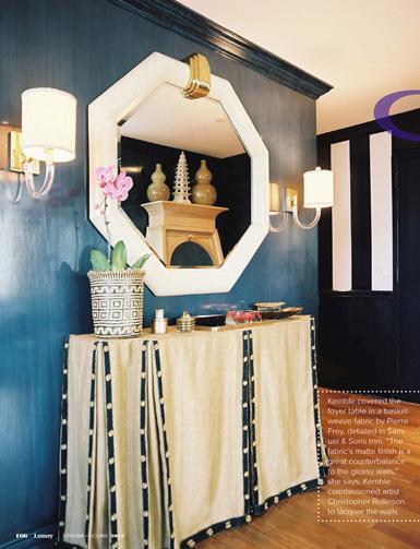 designer Celerie Kemble courtesy of Lonny magazine