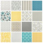 Fabric for Grey & Yellow Rooms