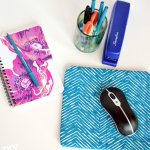 Fabric Scraps to Trendy Office Accessory
