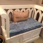 OFS All Star Projects: Upholstered Bench