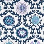 Blue Fabric Print Mixing (Part 1)