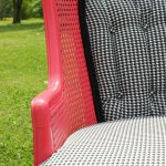 Stylish Houndstooth Chair