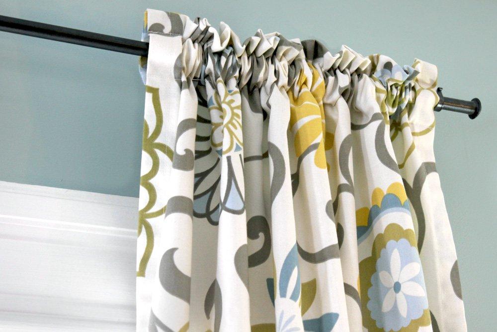 How To Make Rod Pocket Curtains Blog