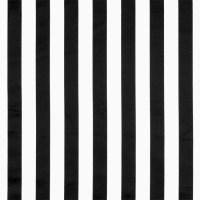 Black/White Stripe Matte Satin Fabric | OnlineFabricStore.net