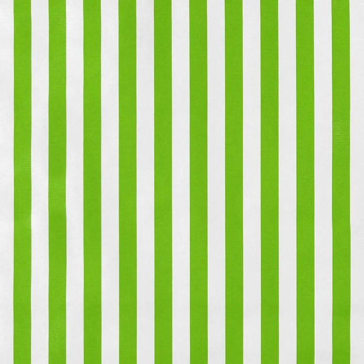 Lime Green Stripes Oilcloth Fabric OnlineFabricStorenet