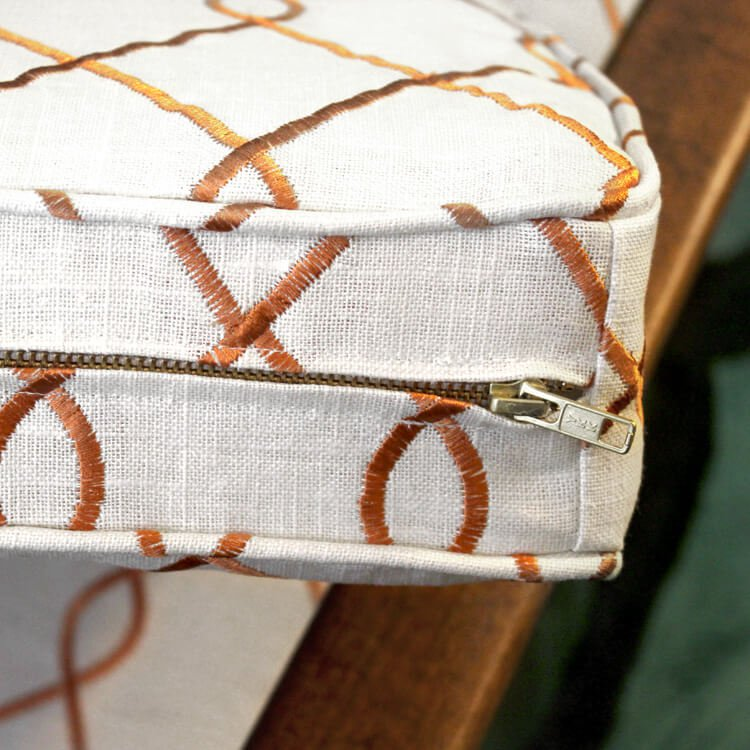 How To Sew an Upholstery Zipper OFS Maker\u0027s Mill