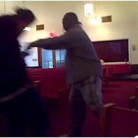 New Salem Missionary Baptist Church Fight? (Video)