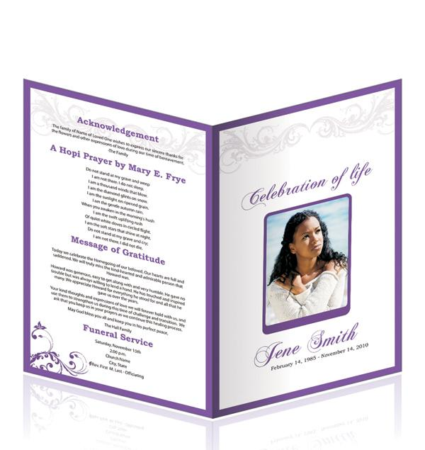 free editable funeral program template - similarlydifferent - free download funeral program template