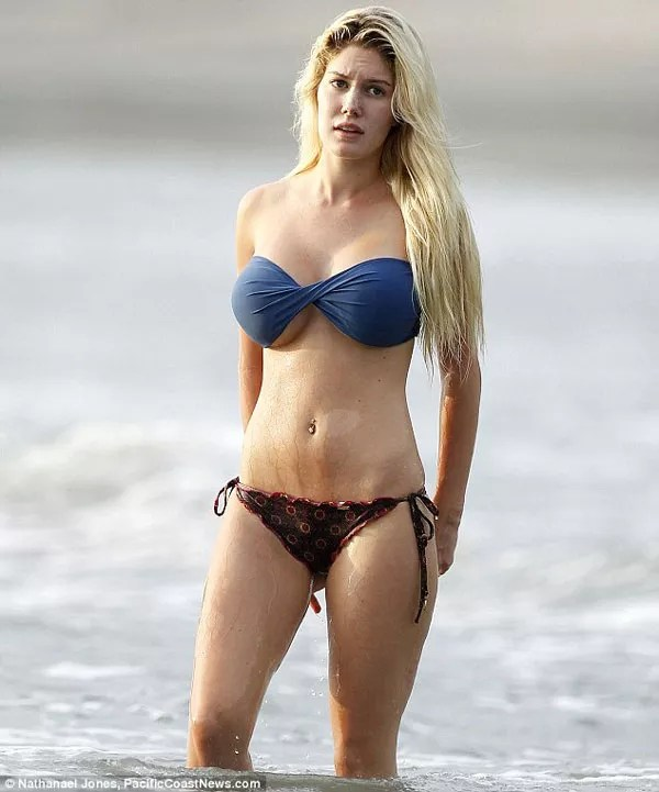 Dream About Wallpaper Falling Off Heidi Montag Shows Off Her Surgically Enhanced Sexy Body