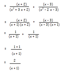 adding and subtracting rational expressions examples with ...