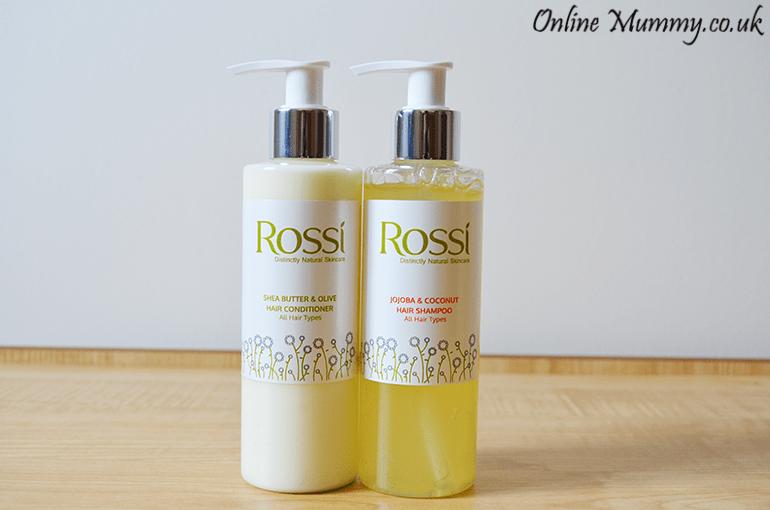 Rossi Skincare Shampoo and Conditioner