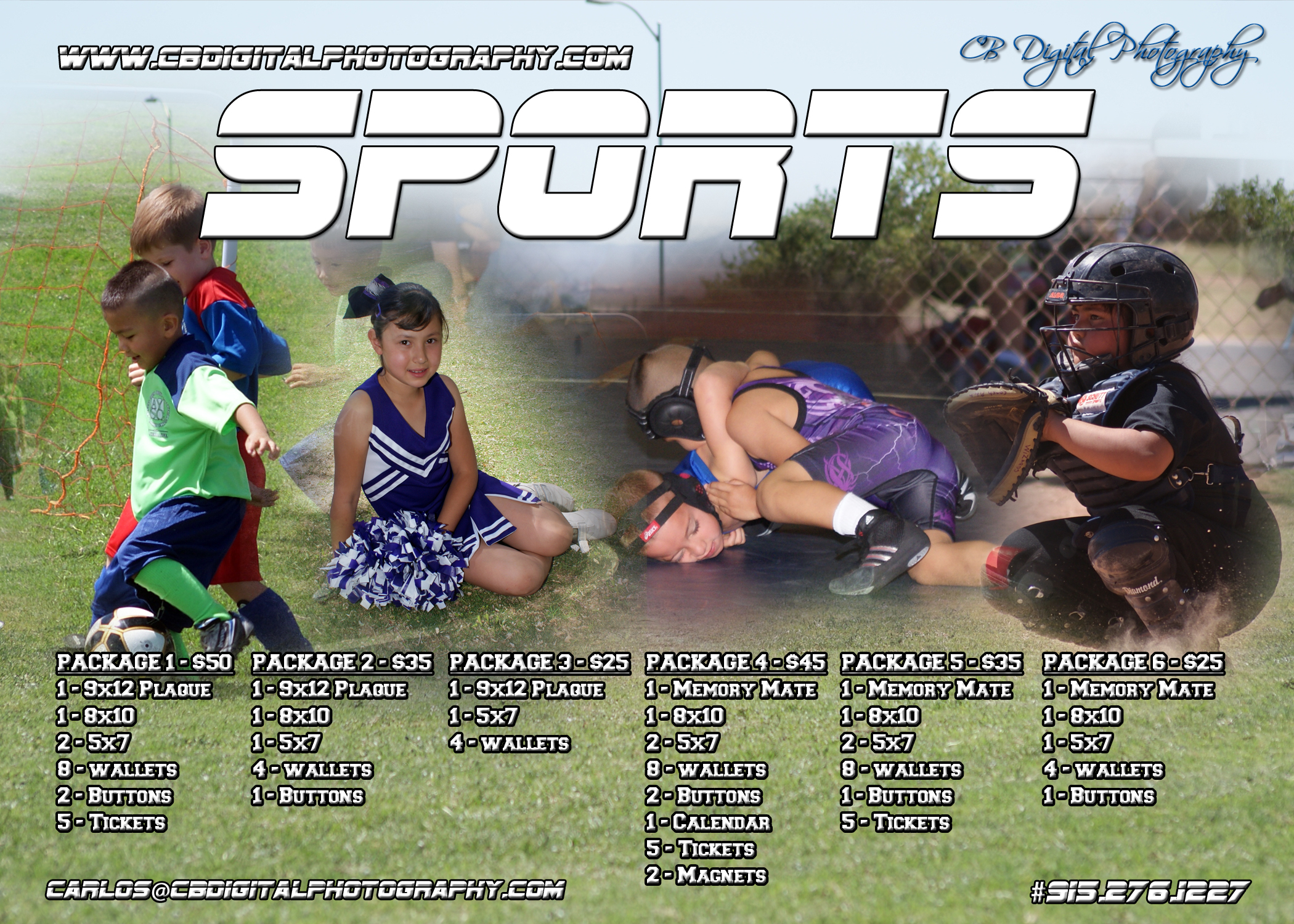 Sports Photography Order Form Template Images