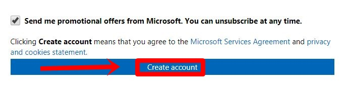 Outlook Mail Registration How To Create Outlook Account - create outlook account