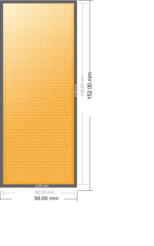 Bookmark 52x148mm Printing - Free Delivery UK