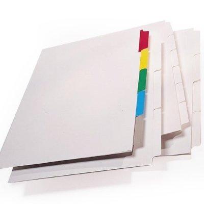Index Tabs Folder Dividers Custom Index Tabs