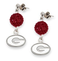 Bulldogs Earring, Georgia Bulldogs Earring, Bulldogs